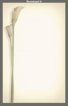 model rouwkaart
